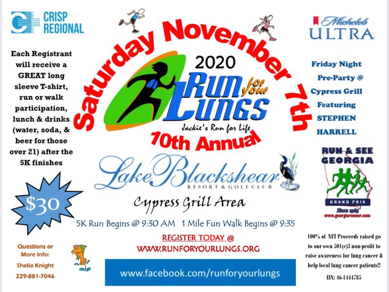 10th Annual Run for your Lungs